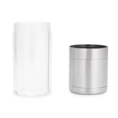 Portable Stainless Steel Manual Salt Pepper Mill Grinder