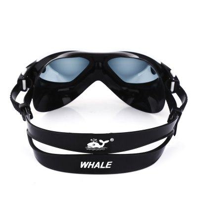 Whale Anti-fog UV Protection Goggles with Myopia LensSports Goggles<br>Whale Anti-fog UV Protection Goggles with Myopia Lens<br><br>Product weight: 0.076 kg<br>Package weight: 0.258 kg<br>Product Size(L x W x H): 17.00 x 5.00 x 6.00 cm / 6.69 x 1.97 x 2.36 inches<br>Package Size(L x W x H): 23.00 x 8.00 x 7.00 cm / 9.06 x 3.15 x 2.76 inches<br>Package Contents: 1 x Swimming Goggles, 1 x Case, 1 x Manual in English and Chinese
