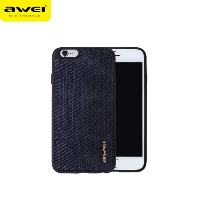 Awei FB - 6S Jeans TPU Back Cover Case for iPhone 6 / 6S 4.7 inch