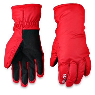 Paired Unisex Water Resistant Warm Snowboard Gloves