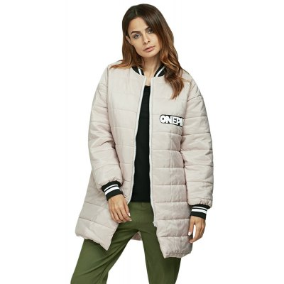 Women Casual Stand Collar Padded Baseball Down Coat