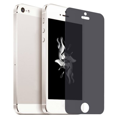 Anti-sight 9H Tempered Glass Film for iPhone 5 / 5C / 5S / SE
