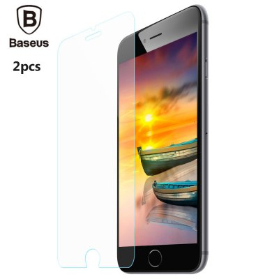 2pcs Baseus 9H 0.3mm Tempered Glass Film for iPhone 7