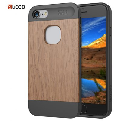 Slicoo SLCS066 Nature Series Wood Case for iPhone 7
