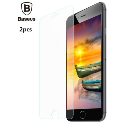 2pcs Baseus 9H 0.2mm Tempered Glass Film for iPhone 7