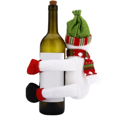 Christmas Wine Bottle Cover Decoration