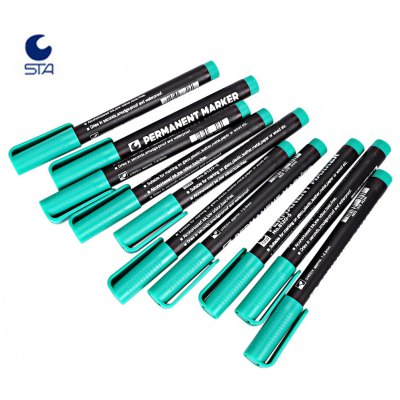 STA 4 Colors Mark Painting Small Permanent Pen