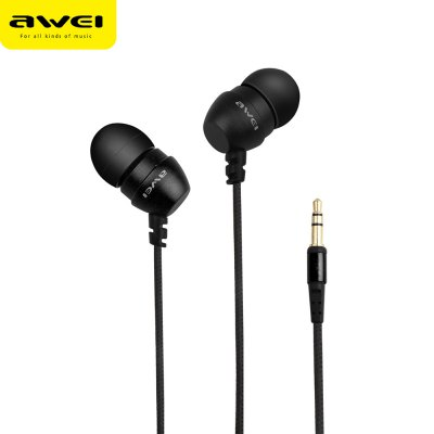 AWEI ES - Q8 3.5MM Stereo Music Earphones Headphones