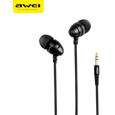 AWEI ES - Q2 3.5MM Stereo Music Earphones Headphones