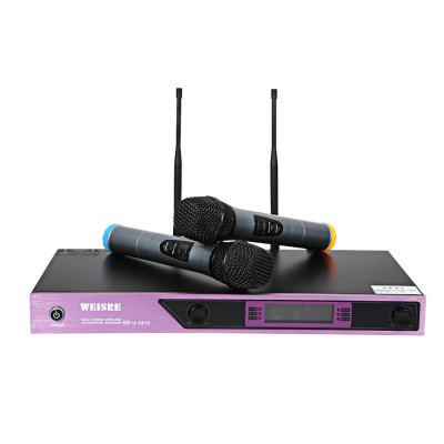 WEISRE U - 3315 Professional VHF Wireless Microphone Set