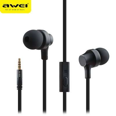 AWEI ES910i 3.5MM Stereo Music Earphones Headphones