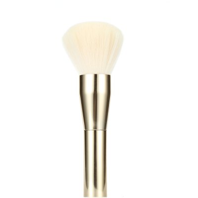 Champagne Foundation Powder Blush Cosmetic Brush