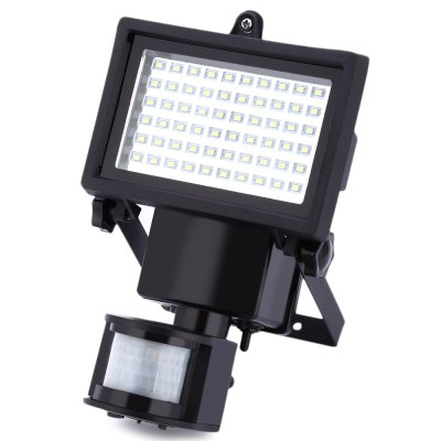 60 LEDs Solar Powered Motion Sensor LightOutdoor Lights<br>60 LEDs Solar Powered Motion Sensor Light<br><br>Body Material: ABS,PC<br>Emitting color: Cold White<br>Is Bulbs Included: Yes<br>Is Dimmable: Yes<br>Light Source: LED Bulbs<br>Protection Level: IP65<br>Style: Modern<br>Usage: Outdoor<br>Product weight: 0.543 kg<br>Package weight: 1.323 kg<br>Package Size(L x W x H): 22.50 x 18.00 x 16.00 cm / 8.86 x 7.09 x 6.3 inches<br>Package Contents: 1 x 60 LEDs Solar Powered Motion Sensor Light, 1 x Solar Panel with Extension Cord, 1 x Stake, 1 x Base, 1 x Pack of Accessories