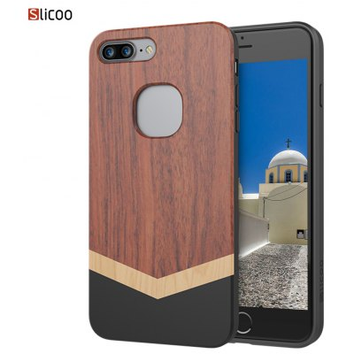 Slicoo SLCS068 Nature Series Wood Case for iPhone 7 Plus