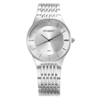 MINGZAN A006 Men Quartz WatchMens Watches<br>MINGZAN A006 Men Quartz Watch<br><br>Band Length: 7.87 inch<br>Band Material Type: Stainless Steel<br>Band Width: 18mm<br>Case material: Alloy<br>Case Shape: Round<br>Clasp type: Folding Clasp<br>Dial Diameter: 1.41 inch<br>Dial Display: Analog<br>Dial Window Material Type: Glass<br>Gender: Men<br>Movement: Quartz<br>Package Contents: 1 x Watch<br>Package Size(L x W x H): 9.00 x 8.00 x 5.50 cm / 3.54 x 3.15 x 2.17 inches<br>Package weight: 0.128 kg<br>Product Size(L x W x H): 20.00 x 3.80 x 0.80 cm / 7.87 x 1.5 x 0.31 inches<br>Product weight: 0.075 kg<br>Style: Fashion &amp; Casual