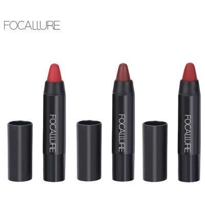 FOCALLURE 3 Colors Moisturizer Nude Lipsticks