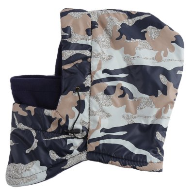 Camouflage Double Layer Unisex Wind Resistance Hat