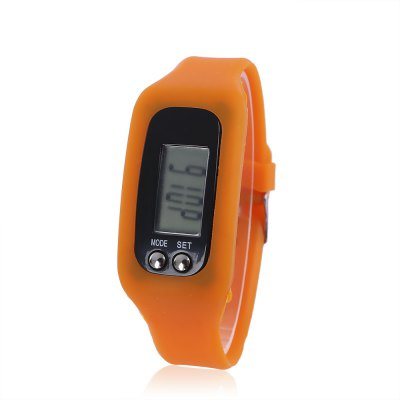Multifunctional Unisex LCD Strap-hand Pedometer