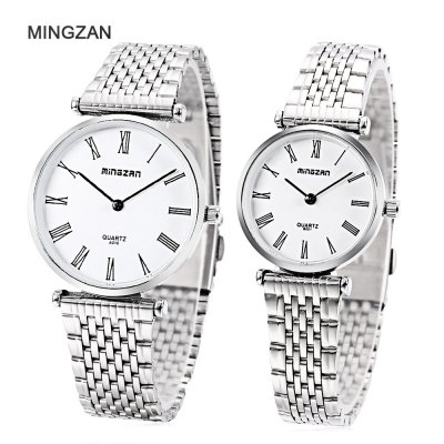MINGZAN A010 Couple Quartz Watch