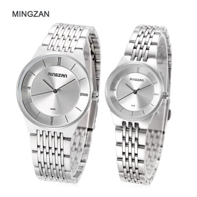 MINGZAN A006 Couple Quartz Watch