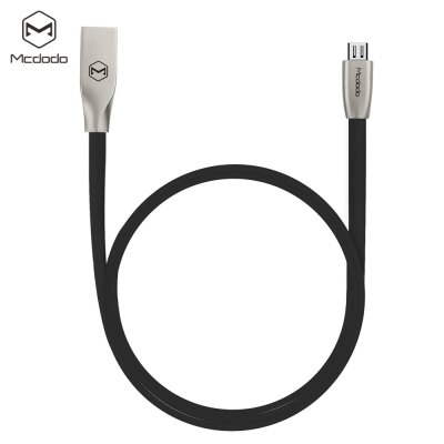 Mcdodo CA - 125 Micro USB Metal Housing Noodle Charge Data Transfer Cable 1m