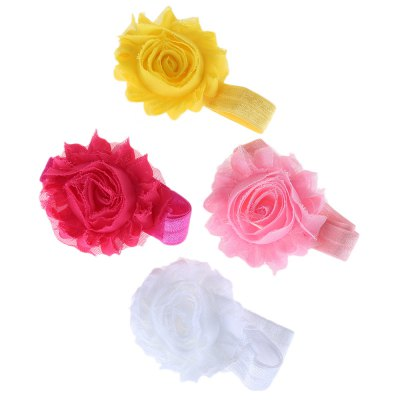 Flower Decoration Pure Color Hairband for BabiesBaby Gear<br>Flower Decoration Pure Color Hairband for Babies<br><br>Headwear Type: Hairbands<br>Group: Children<br>Gender: For Girls<br>Style: Fashion<br>Pattern Type: Solid<br>Material: Polyester<br>Product weight: 0.003 kg<br>Package weight: 0.009 kg<br>Product size (L x W x H): 10.00 x 8.00 x 0.50 cm / 3.94 x 3.15 x 0.2 inches<br>Package size (L x W x H): 10.50 x 8.50 x 1.00 cm / 4.13 x 3.35 x 0.39 inches<br>Package Contents: 1 x Hairband