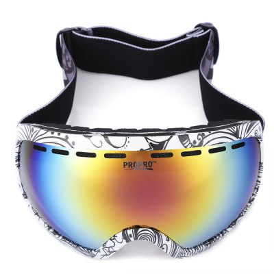PROPRO Unisex UV Protection Windproof Skiing  Glasses
