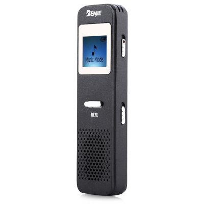 BENJIES6 1 inch Voice Recorder MP3 Music Player