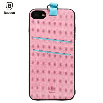 Baseus Lang Series PU Back Cover Dual Card Slot for iPhone 7