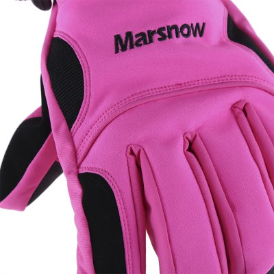 MARSNOW Waterproof Thickening Skiing Riding Gloves
