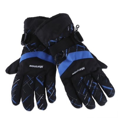 MARSNOW Winter Thickening Warm Skiing Waterproof Motorcycle Gloves