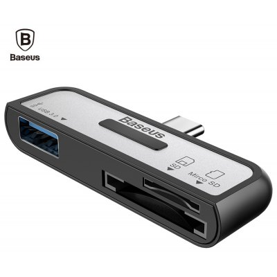 Baseus 3 in 1 Multiformat OTG Card Reader Type-C USB 3.0