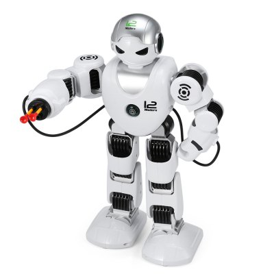 Intelligent RC Robot 2.4G Dancing Battle Model ToyRC Robot<br>Intelligent RC Robot 2.4G Dancing Battle Model Toy<br><br>Age: Above 6 years old<br>Features: 2.4GHz Remote Control<br>Material: ABS/PS, Electronic Components<br>Package Contents: 1 x Robot, 1 x Transmitter, 1 x USB Cable, 1 x Screwdriver, 5 x Bullet<br>Package size (L x W x H): 45.50 x 32.00 x 13.50 cm / 17.91 x 12.6 x 5.31 inches<br>Package weight: 1.581 kg<br>Product weight: 1.004 kg<br>Transmitter Power: 2 x 1.5V AA battery(not included)