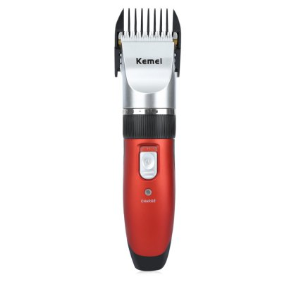 Kemei KM - 3902 Hair Cut Travel Use Safe Electric ClippersHair Care<br>Kemei KM - 3902 Hair Cut Travel Use Safe Electric Clippers<br><br>Item Type: Hair Clipper<br>Materials: ABS<br>Voltage: AC100-240V<br>Power: 3W<br>Input Voltage (V)  : 220V<br>Charging time: 8  hour<br>Working Time: 30 minutes<br>Product weight: 0.330 kg<br>Package weight: 0.450 kg<br>Product Size(L x W x H): 17.50 x 4.50 x 3.50 cm / 6.89 x 1.77 x 1.38 inches<br>Package Size(L x W x H): 27.00 x 21.00 x 6.00 cm / 10.63 x 8.27 x 2.36 inches<br>Package Content: 1 x Shaver, 4 x Limit Comb, 1 x Cleaning Brush, 1 x Conservation Oil, 1 x Spare Battery, 1 x Bilingual User Manual in English and Chinese
