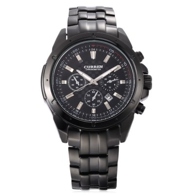 CURREN 8009 Male Quartz WatchMens Watches<br>CURREN 8009 Male Quartz Watch<br><br>Band Length: 9.06 inch<br>Band Material Type: Stainless Steel<br>Band Width: 20mm<br>Case material: Alloy<br>Case Shape: Round<br>Clasp type: Folding Clasp with Safety<br>Dial Diameter: 1.78 inch<br>Dial Display: Analog<br>Dial Window Material Type: Hardlex<br>Feature: Luminous, Date<br>Gender: Men<br>Movement: Quartz<br>Package Contents: 1 x Watch<br>Package Size(L x W x H): 8.50 x 8.00 x 5.50 cm / 3.35 x 3.15 x 2.17 inches<br>Package weight: 0.214 kg<br>Product Size(L x W x H): 23.00 x 4.70 x 1.00 cm / 9.06 x 1.85 x 0.39 inches<br>Product weight: 0.135 kg<br>Style: Business<br>Water Resistance Depth: 30m