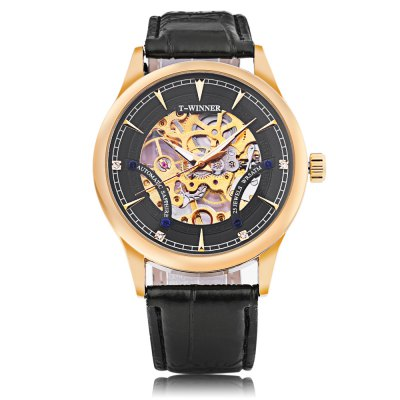 Winner A708 Male Mechanical Hand Wind WatchMens Watches<br>Winner A708 Male Mechanical Hand Wind Watch<br><br>Band Length: 8.27 inch<br>Band Material Type: Leather<br>Band Width: 18mm<br>Case material: Alloy<br>Case Shape: Round<br>Clasp type: Pin Buckle<br>Dial Diameter: 1.57 inch<br>Dial Display: Analog<br>Dial Window Material Type: Hardlex<br>Feature: Luminous<br>Gender: Men<br>Movement: Mechanical Hand Wind<br>Package Contents: 1 x Watch<br>Package Size(L x W x H): 27.00 x 5.50 x 2.00 cm / 10.63 x 2.17 x 0.79 inches<br>Package weight: 0.078 kg<br>Product Size(L x W x H): 26.00 x 4.50 x 1.00 cm / 10.24 x 1.77 x 0.39 inches<br>Product weight: 0.057 kg<br>Style: Business
