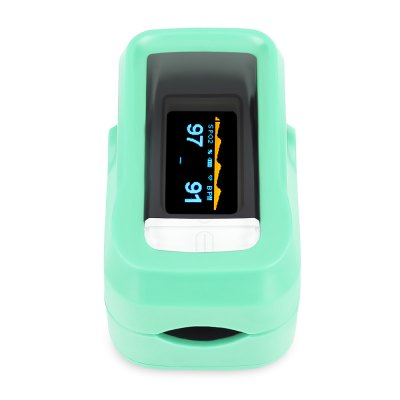 OLED Display Family Digital Fingertip Pulse Oximeter SpO2 PR Interval