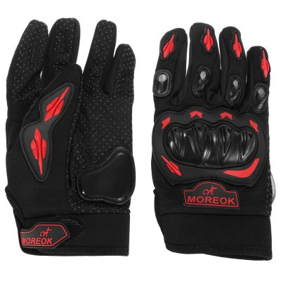 Pair of MOREOK Motorcycle Riding Gloves