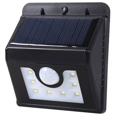 8 LEDs Solar Powered Motion Sensor Light