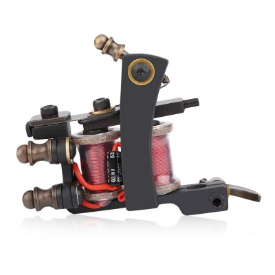 Professional Iron Electric Tattoo Machine Gun 8 Wrap Coils Liner