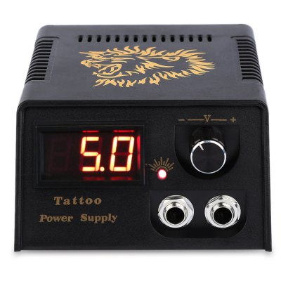 Digital LED Tattoo Power Supply for Foot Pedal Switch Machine