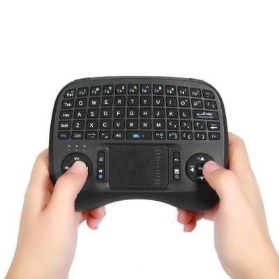 iPazzPort KP - 810 - 21T 2.4GHz Wireless QWERTY Keyboard