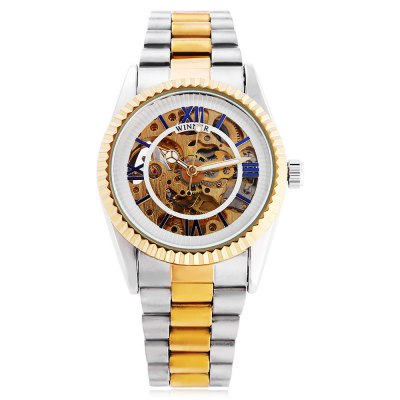 Winner 002 Male Auto Mechanical Luminous WatchMens Watches<br>Winner 002 Male Auto Mechanical Luminous Watch<br><br>Band Length: 7.87 inch<br>Band Material Type: Stainless Steel<br>Band Width: 16mm<br>Case material: Alloy<br>Case Shape: Round<br>Clasp type: Folding Clasp<br>Dial Diameter: 1.38 inch<br>Dial Display: Analog<br>Dial Window Material Type: Hardlex<br>Feature: Luminous<br>Gender: Men<br>Movement: Automatic Self-Wind<br>Package Contents: 1 x Watch<br>Package Size(L x W x H): 11.00 x 5.00 x 2.00 cm / 4.33 x 1.97 x 0.79 inches<br>Package weight: 0.103 kg<br>Product Size(L x W x H): 20.00 x 4.00 x 1.00 cm / 7.87 x 1.57 x 0.39 inches<br>Product weight: 0.082 kg<br>Style: Business
