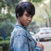 AISIHAIR Short Natural Straight Pixie Cutting Black Wigs for sale