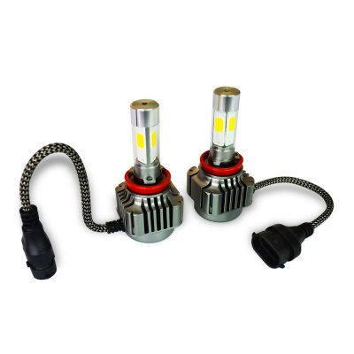 2pcs H8 H9 H11 36W 4800LM COB Car Vehicle LED Headlight
