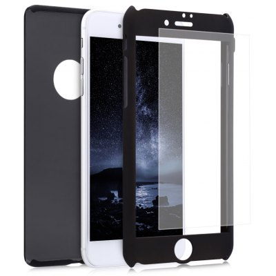 360 Degree Full Protective Frosted PC Case for iPhone 7 Plus