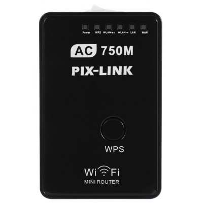 PIX - LINK AC01 750Mbps Dual Band AP Router Repeater