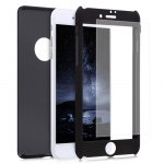 360 Degree Full Protective Frosted PC Case for iPhone 7