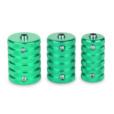 3pcs / Set Aluminum Alloy Tattoo Grips Supply with Wrench