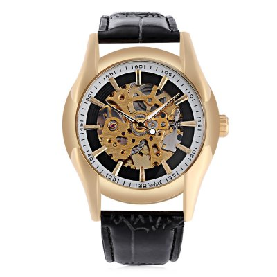 Winner 006  Auto Mechanical Male WatchMens Watches<br>Winner 006  Auto Mechanical Male Watch<br><br>Band Length: 8.27 inch<br>Band Material Type: Leather<br>Band Width: 20mm<br>Case material: Alloy<br>Case Shape: Round<br>Clasp type: Pin Buckle<br>Dial Diameter: 1.57 inch<br>Dial Display: Analog<br>Dial Window Material Type: Hardlex<br>Feature: Luminous<br>Gender: Men<br>Movement: Automatic Self-Wind<br>Package Contents: 1 x Watch<br>Package Size(L x W x H): 26.00 x 5.50 x 2.00 cm / 10.24 x 2.17 x 0.79 inches<br>Package weight: 0.081 kg<br>Product Size(L x W x H): 25.00 x 4.50 x 1.00 cm / 9.84 x 1.77 x 0.39 inches<br>Product weight: 0.060 kg<br>Style: Business